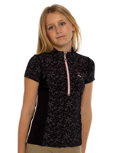 Goode Rider Girls Ideal Show Shirt, Short Sleeve English Show Shirts, Goode Rider, One Stop Equine Shop - One Stop Equine Shop