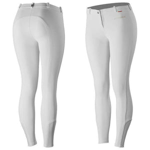 B Vertigo Lauren Women's Silicone Knee Patch Breeches, Knee Patch Breeches, B Vertigo, One Stop Equine Shop - One Stop Equine Shop