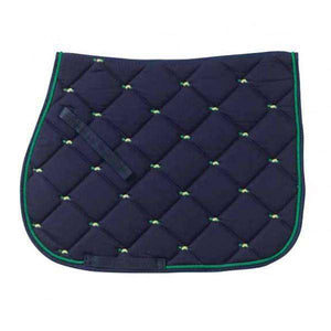Centaur Embroidered Turtle Saddle Pad