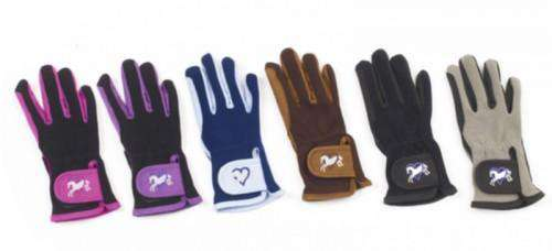 Ovation Children's Heart & Horse Gloves