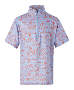 Kerrits Kids Ice Fil Print Short Sleeve Technical Shirt