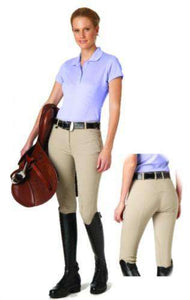 Ovation Ladies Ultra Knee-Patch Side Zip Breech