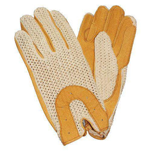 Ovation Men's Horseshoe Crochet Gloves