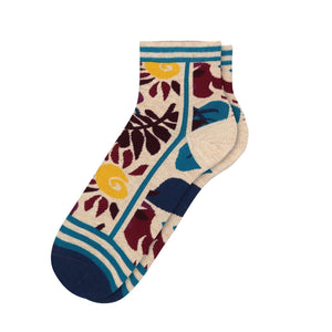 Fun Socks Women's Floral Garden Socks