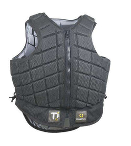 Champion Titanium Ti22 Childrens Body Protector Short, Riding Vests, Champion, One Stop Equine Shop - One Stop Equine Shop
