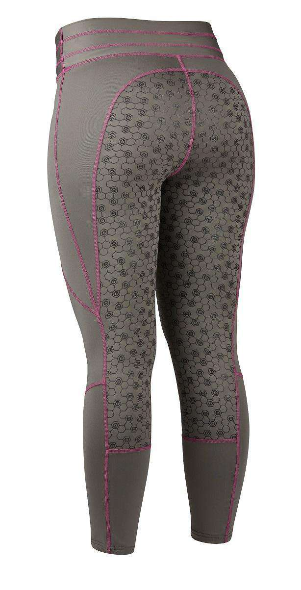 Dublin Ladies Performance Compression Tights, Full Seat Tights, Dublin, One Stop Equine Shop - One Stop Equine Shop