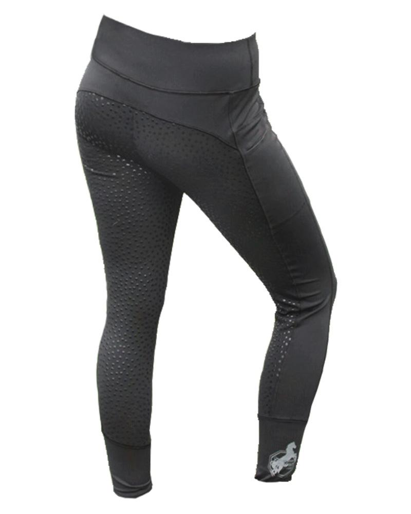 One Stop Equine Shop Women's Veronica Euro Full Seat Tights with Phone Pocket