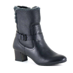 Bussola Beatrice Shearling Heeled Boot
