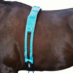 Kincade Brights Deluxe Equigrip Lunge Roller, Surcingles, Kincade, One Stop Equine Shop - One Stop Equine Shop