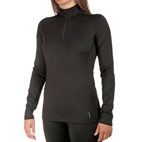 Hot Chillys' Women's Micro-Elite Chamois Zip-T