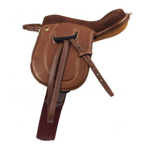 Camelot Leadline Leather Saddle