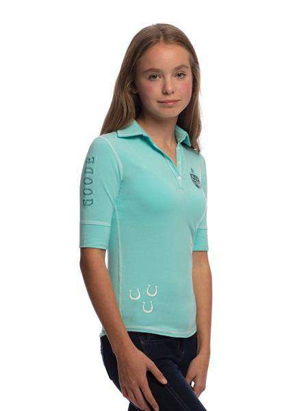 Goode Rider Girls Happy Polo, Polo Shirts, Goode Rider, One Stop Equine Shop - One Stop Equine Shop