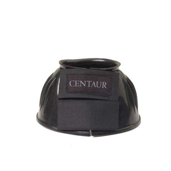 Centaur PVC Ribbed Double Hook and Loop Bell Boots