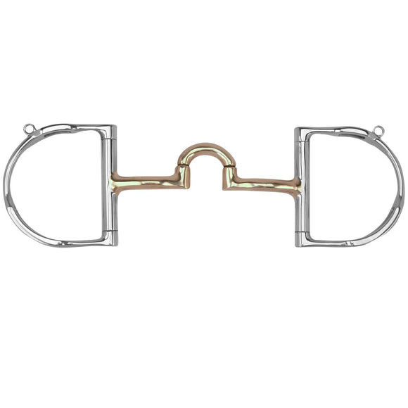 Myler Dee with Hooks with Cyprium Correctional Low Port