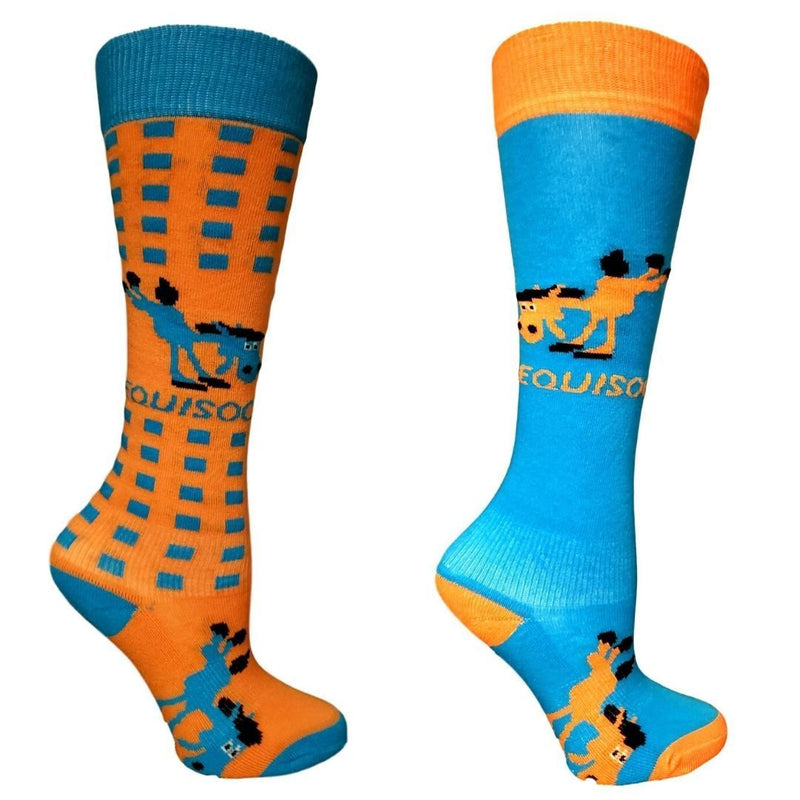 EquiSoc Kids Boot Socks 2 Pair Set
