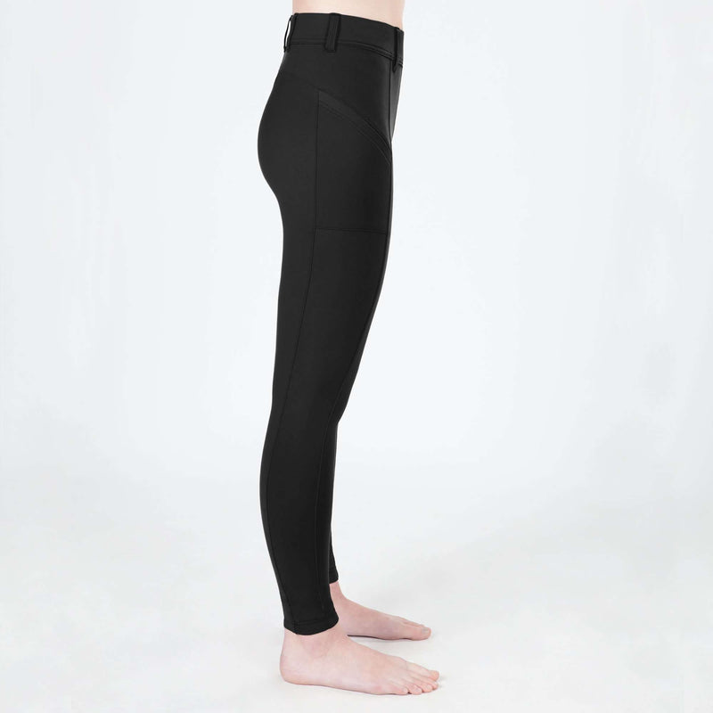 Irideon Kids' Bending Line Tights, Knee Patch Tights, Irideon, One Stop Equine Shop - One Stop Equine Shop