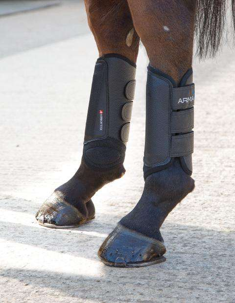 Shires Arma Cross Country Boots- Hind