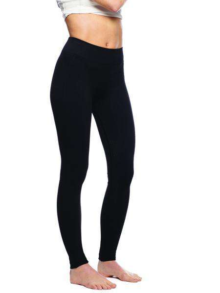 Goode Rider Bodysculpting Seamless Tights Knee Patch, Knee Patch Tights, Goode Rider, One Stop Equine Shop - One Stop Equine Shop