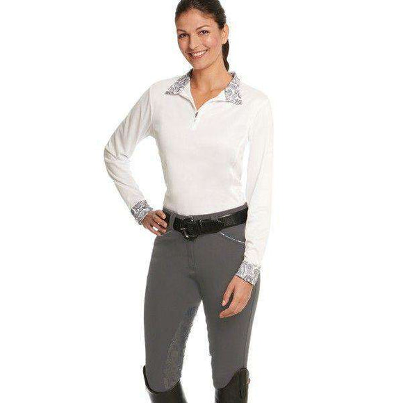 Ovation Ladies Destiny Super-X Paisley GRIP Knee Patch Breech