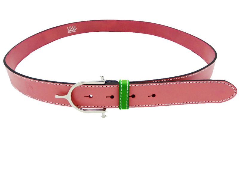 "LILO Collections Inglesa 1.25"" Spur Leather Belt"