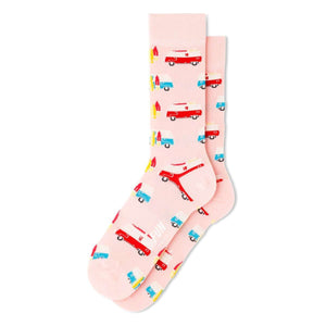 Fun Socks Men's Surf Van Socks, Socks, Fun Socks, One Stop Equine Shop - One Stop Equine Shop