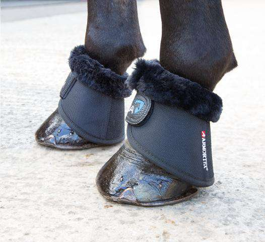 Shires Arma Fleece Trimmed Over Reach Boots