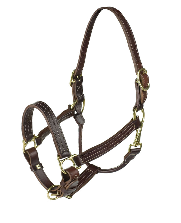 Finn-Tack American Quality Leather Halter, Leather Halters, Finn-Tack, One Stop Equine Shop - One Stop Equine Shop