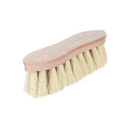 Horze Wood Back Firm Brush With Natural Bristles, 2in