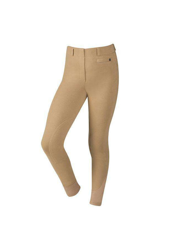 Dublin Child's Supa-Fit Pull On Knee Patch Breeches