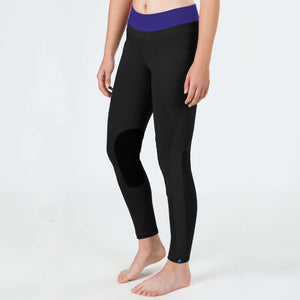 Irideon Synergy Tights, Knee Patch Tights, Irideon, One Stop Equine Shop - One Stop Equine Shop