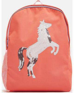 Joules Patchback Sequin Horse Backpack