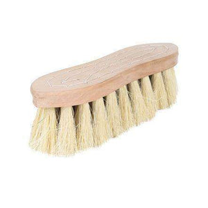 Horze Wood Back Firm Brush With Natural Mix Bristles, 2in