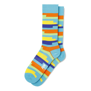 Fun Socks Men's Coil Stripe Socks