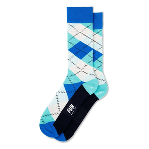 Fun Socks Men's Argyle Socks, Socks, Fun Socks, One Stop Equine Shop - One Stop Equine Shop