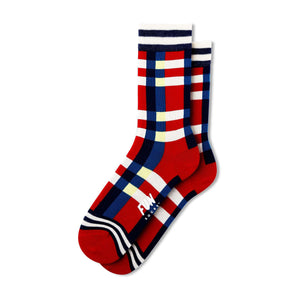 Fun Socks Women's Plaid Socks