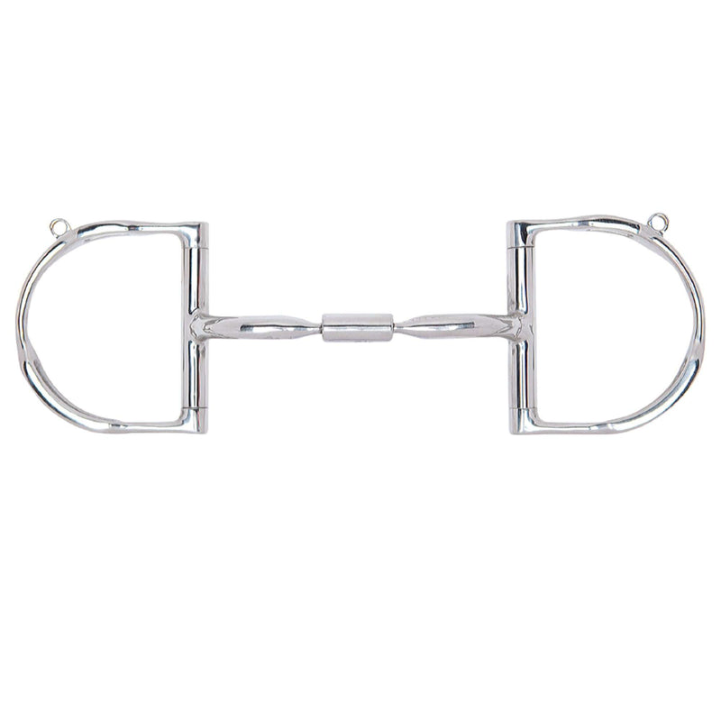 Myler Dee with Hooks with Stainless Steel Comfort Snaffle Wide Barrel