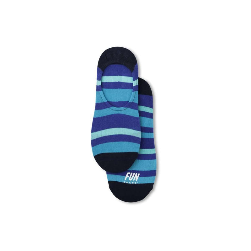 Fun Socks Men's No Show Bold Stripe Socks, Socks, Fun Socks, One Stop Equine Shop - One Stop Equine Shop