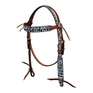 Turn-Two Equine Chasing Wild Browband Headstall
