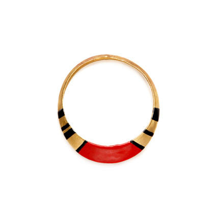 Enameled TALON BANGLE