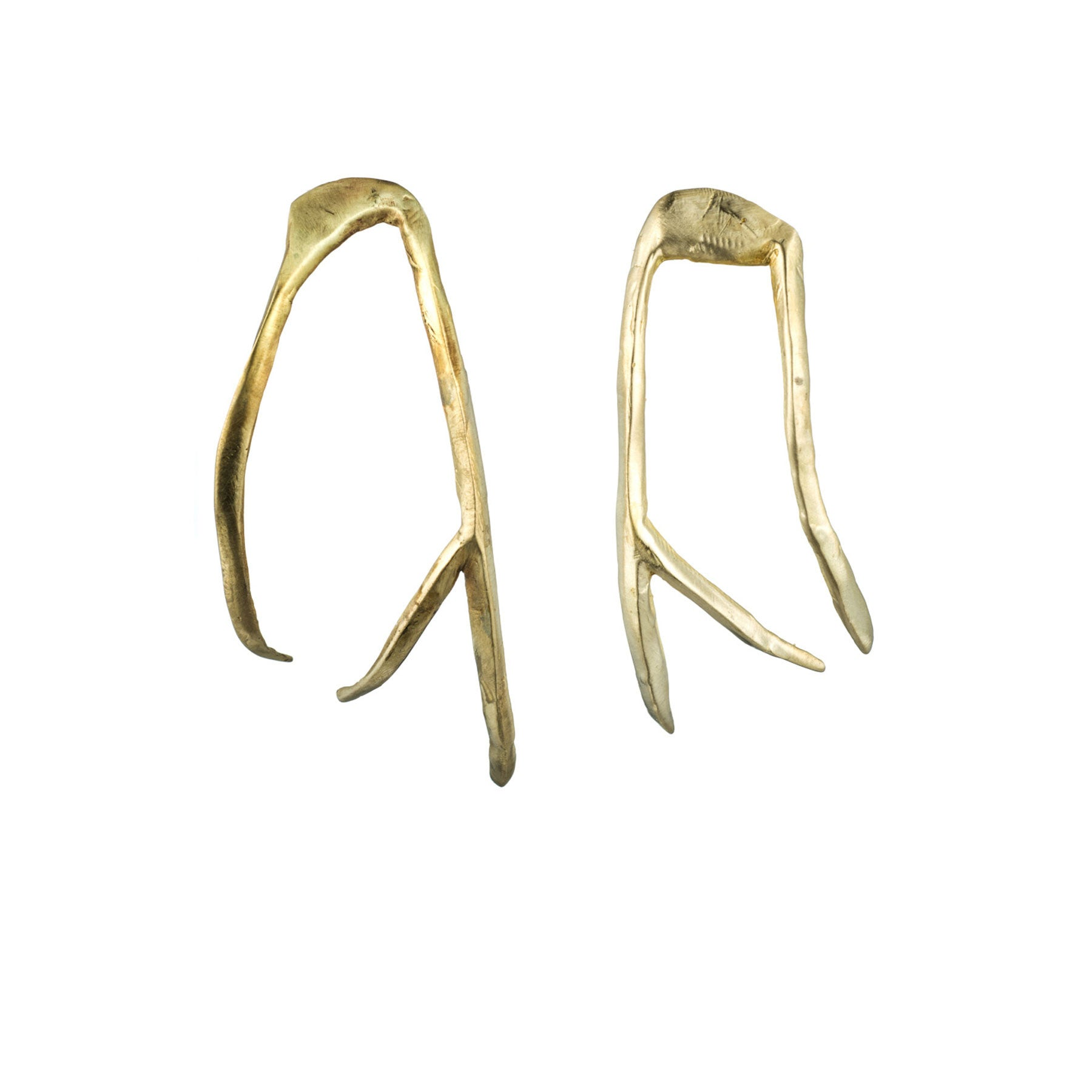 LARGE ANTLER EARRINGS