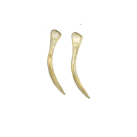 SMALL ANTLER EARRINGS