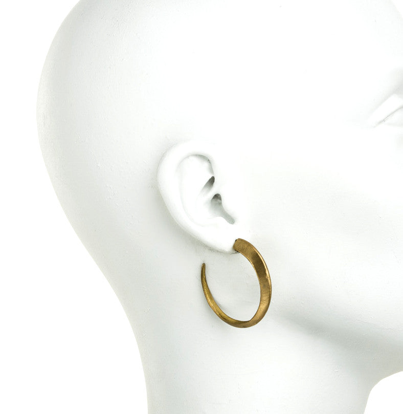 Enameled Larger HOOPS
