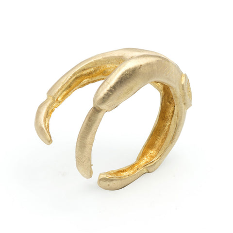 LARGE CLAW RING