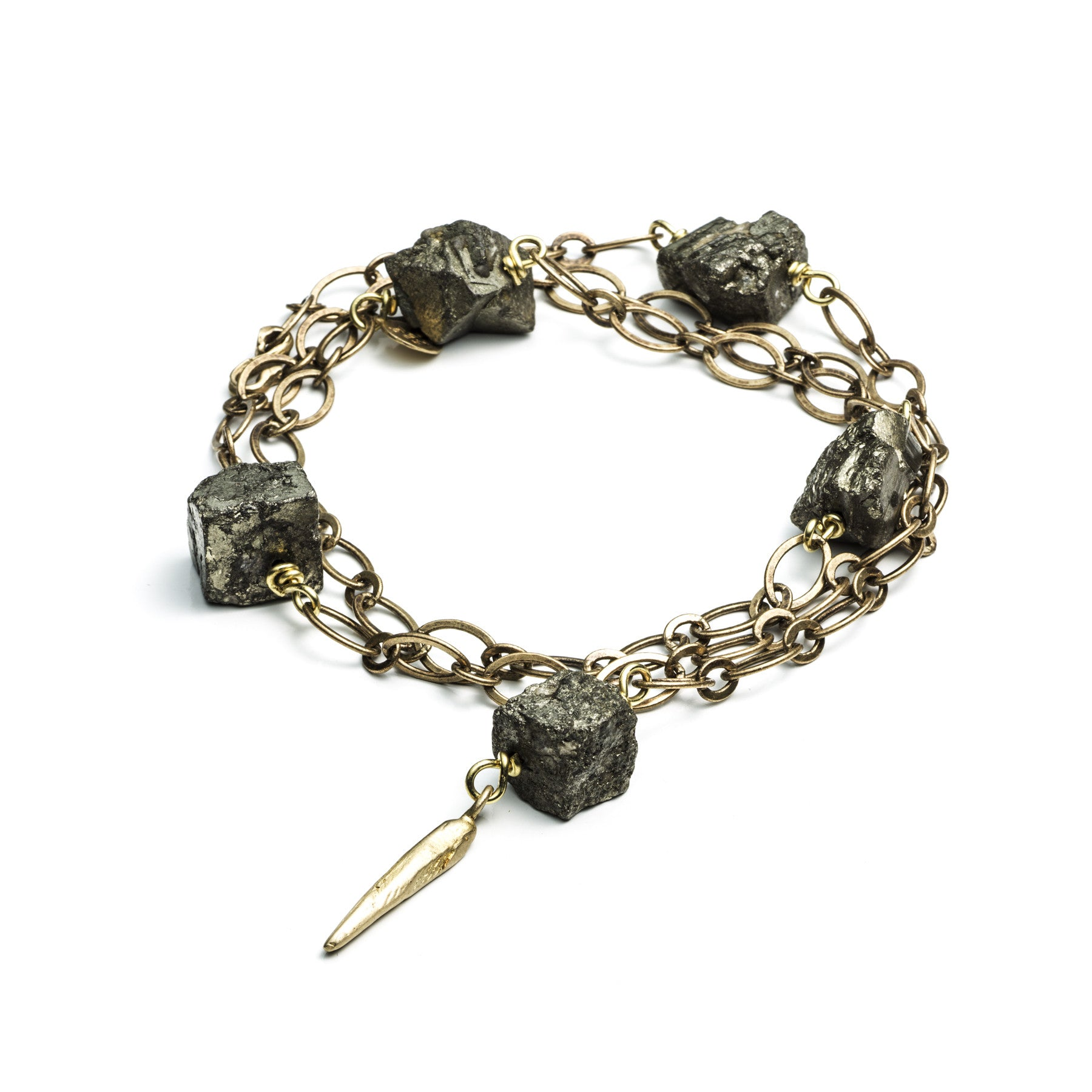 DAGGERS AND PYRITE WRAP