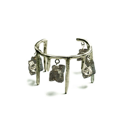 ICICLES AND PYRITE CUFF