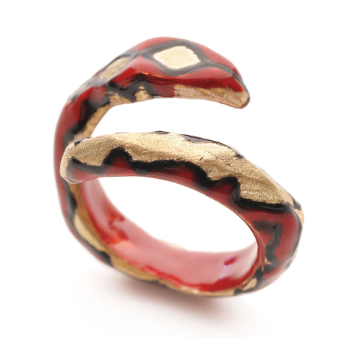 Enameled ANGULAR SNAKE
