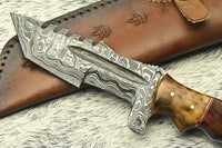 Custom Handmade HUNTING TRACKER Tactical Hunter Blade Survival