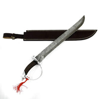 Cutlass Sword- High Carbon Damascus Steel Sword