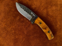 |NB KNIVES| CUSTOM HANDMADE HIGH CORBAN STEEL SKINNER KNIFE HANDLE REZON