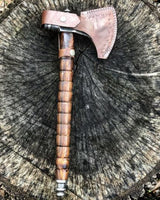 Custom Handmade Damascus Axe